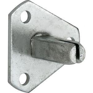 Wallebroek 00.9014.90 montagestift voor deurkruk dummy ijzer vernikkeld - A25002231 - afbeelding 1