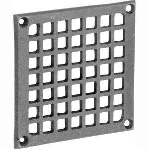 Wallebroek 70.7802.90 luchtrooster Carree 15x15 cm ijzer blank - A25002277 - afbeelding 1