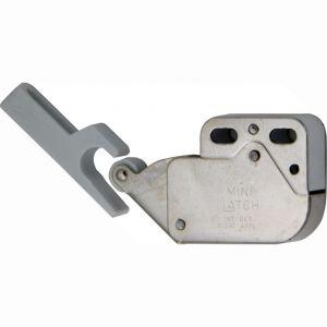 Wallebroek 86.8001.90 Tip latch veersluiting klein ijzer vernikkeld - A25000668 - afbeelding 1