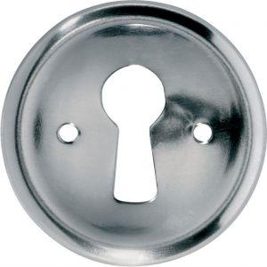 Wallebroek 86.8156.90 sleutelrozet 30 mm ijzer glans nikkel - A25003739 - afbeelding 1