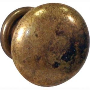 Wallebroek 86.8039.90 meubelknop Antiek Bronzo 25 mm zamak verbronsd - A25005863 - afbeelding 1