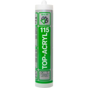 Seal-it 115 Top-Acryl acrylaatkit wit 310 ml koker - Y40780050 - afbeelding 1