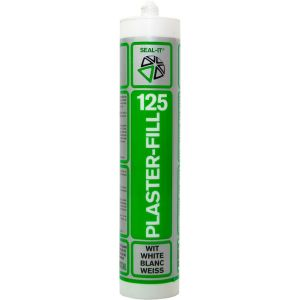 Seal-it 125 Plaster-fill acrylaatkit wit 310 ml koker - Y40780051 - afbeelding 1