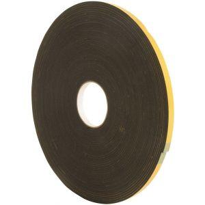 Seal-it paneltape 12x3 mm 25 m zwart - Y40780001 - afbeelding 1
