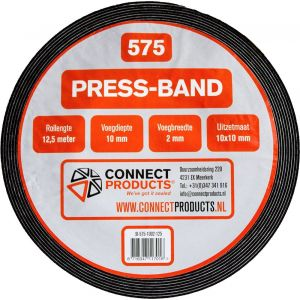 Seal-it 575 Press-band compriband 10x3 mm x 10 m (10x15) prijs per meter - Y40780020 - afbeelding 1
