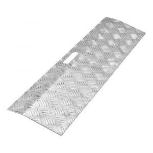 SecuCare drempelhulp aluminium type 1 breedte 78x20 cm hoogte 0-3 cm - A50750240 - afbeelding 1