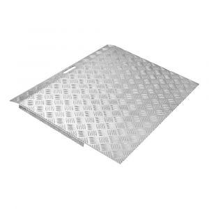 SecuCare drempelhulp aluminium type 3 breedte 78x59,5 cm hoogte 5-15 cm - A50750242 - afbeelding 1