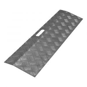 SecuCare drempelhulp aluminium type 1 breedte 78x20 cm hoogte 0-3 cm RAL 7021 zwartgrijs - A50750243 - afbeelding 1
