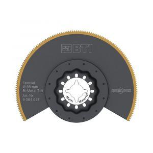 Multizaag SL152 segmentzaaglbad Starlock bi metaalbewerking titanium coated fijn half rond 85x85 - A11600544 - afbeelding 1