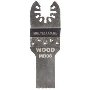 Multizaag MB08 standaard zaagblad Universeel houtbewerking HCS fijn recht 40x20 mm 10 - A11600005 - afbeelding 1