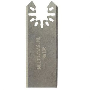 Multizaag MB106 recht snijmes Universeel snijden kit en lijm HCS mes recht 52x30 - A11600172 - afbeelding 1