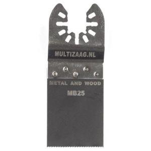 Multizaag MB25 bi metalen zaagblad Universeel houtbewerking fijn recht 40x35 - A11600036 - afbeelding 1