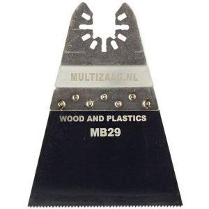 Multizaag MB29 zaagblad standaard Universeel houtbewerking HCS fijn driehoek 42x70 mm 10 - A11600013 - afbeelding 1
