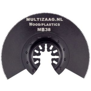 Multizaag MB38 standaard zaagblad halfrond Universeel houtbewerking HCS fijn half rond 90x90 mm 100 - A11600023 - afbeelding 1