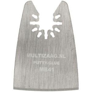 Multizaag MB41 segmentmes Universeel snijden kit en lijm HCS mes recht 27x52 - A11600144 - afbeelding 1