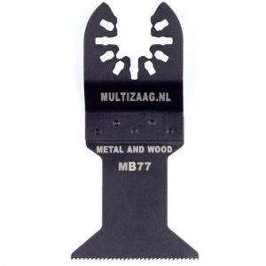 Multizaag MB77 bi metalen zaagblad Universeel houtbewerking fijn recht 42x45 - A11600048 - afbeelding 1