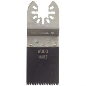 Multizaag MB83 standaard zaagblad Universeel houtbewerking HCS fijn recht 40x35 - A11600024 - afbeelding 1