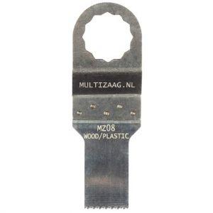 Multizaag MZ08 standaard zaagblad Supercut houtbewerking HCS fijn recht 40x20 - A11600258 - afbeelding 1