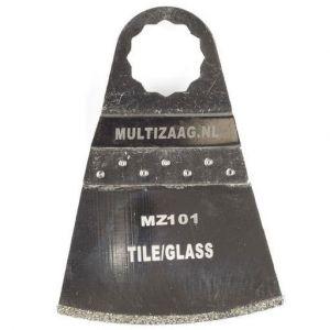 Multizaag MZ101 diamant segmentmes Supercut slijpen voegen en tegels diamond rasp driehoek 50x70 - A11600378 - afbeelding 1