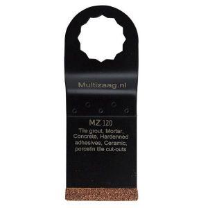 Multizaag MZ120 slijpblad steen en beton Supercut slijpen voegen en tegels rasp recht 40x35 - A11600382 - afbeelding 1