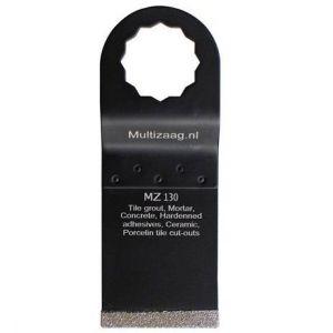 Multizaag MZ130 diamant zaagblad Supercut slijpen voegen en tegels diamond rasp driehoek 50x35 - A11600394 - afbeelding 1