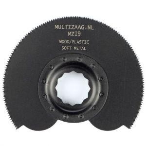 Multizaag MZ19 halfrond zaagblad Supercut houtbewerking HCS fijn half rond 90x90 - A11600262 - afbeelding 1
