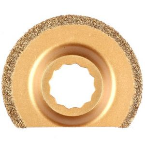 Multizaag MZ47 slijpblad steen en beton Supercut slijpen voegen en tegels rasp half rond 63x63 - A11600362 - afbeelding 1