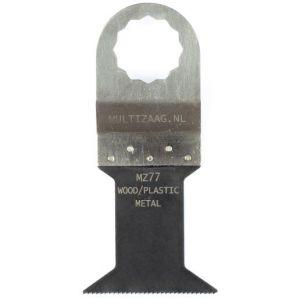 Multizaag MZ77 bi metalen zaagblad Supercut houtbewerking met spijkers fijn recht 42x45 - A11600302 - afbeelding 1