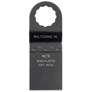 Multizaag MZ78 bi metalen zaagblad Supercut houtbewerking met spijkers fijn recht 40x35 - A11600306 - afbeelding 1