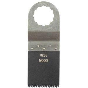 Multizaag MZ83 standaard zaagblad Supercut houtbewerking HCS Japanse vertanding recht 40x35 - A11600278 - afbeelding 1