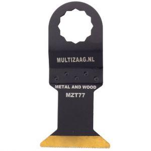 Multizaag MZT77 HSS titanium coated zaagblad Supercut metaalbewerking fijn recht 50x45 - A11600330 - afbeelding 1