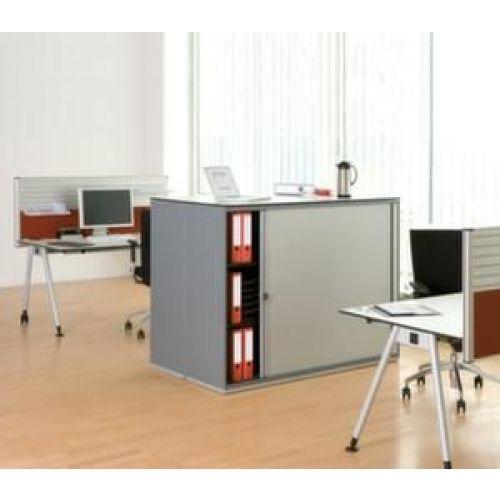 Rolluik Bureau Wit.Orbis Jaloeziedeurkast Hxbxd 1200x1200x450 Mm 2 Legborden 3
